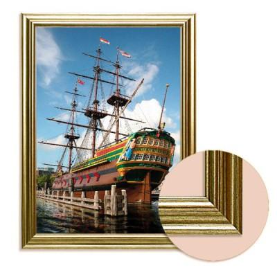 Dtoys Toile avec cadre art print in frame : voilier amsterdam, nederlands scheepvaartmuseum