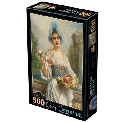 Dtoys Puzzle 500 pièces : léon françois comerre : la vendeuse de fleurs