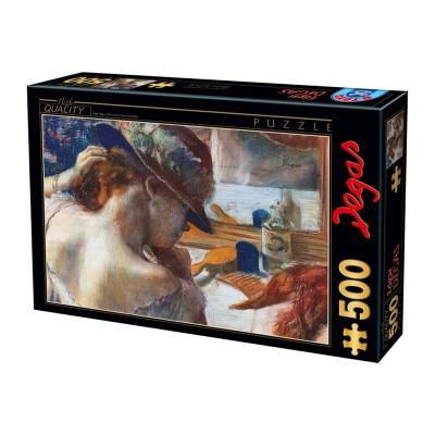 Dtoys Puzzle 500 pièces : edgar degas : devant le miroir