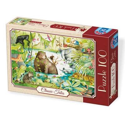 Dtoys Puzzle 100 pièces : classic tales : le livre de la jungle