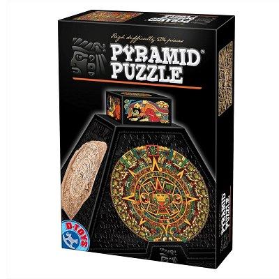 DToys Puzzle 3D Pyramide 504 pièces - Art précolombien : Rosaces