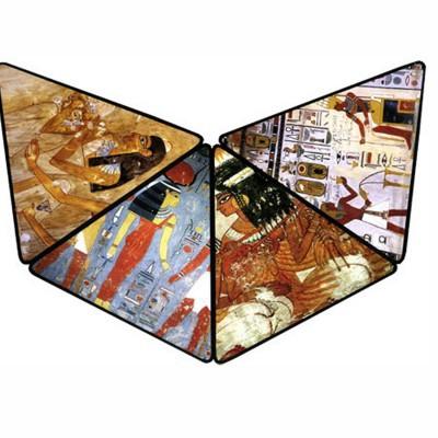 DToys Puzzle 3D Pyramide 500 pièces - Egypte : Les peintures