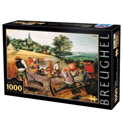 Dtoys Puzzle 1000 pièces - brueghel : l'été