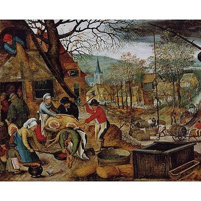 Dtoys Puzzle 1000 pièces - brueghel : l'automne