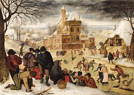 Dtoys Puzzle 1000 pièces - brueghel : l'hiver