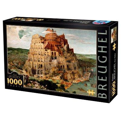 Dtoys Puzzle 1000 pièces - brueghel : la tour de babel