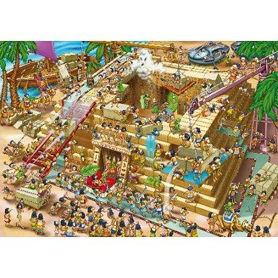 Dtoys Puzzle 1000 pièces - cartoon collection : pyramide d'egypte