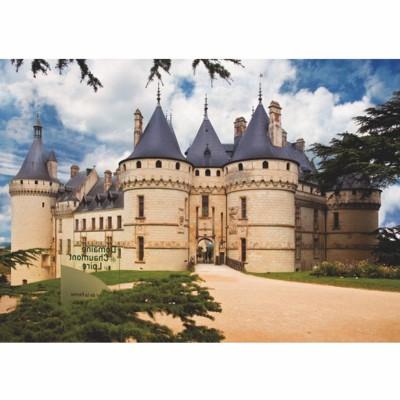 Dtoys Puzzle 1000 pièces - châteaux de france : château de chaumont