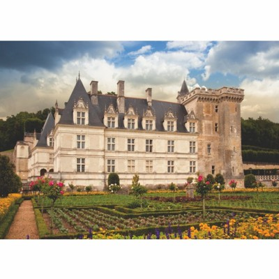 Dtoys Puzzle 1000 pièces - château de france : château de villandry