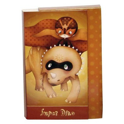 Avenue Mandarine Coffret cartes d'invitation Super Dino. Coffret cartes d'invitation Super Dino