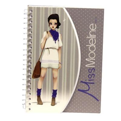 Avenue Mandarine carnet miss modeline creativ'model a6 : joe