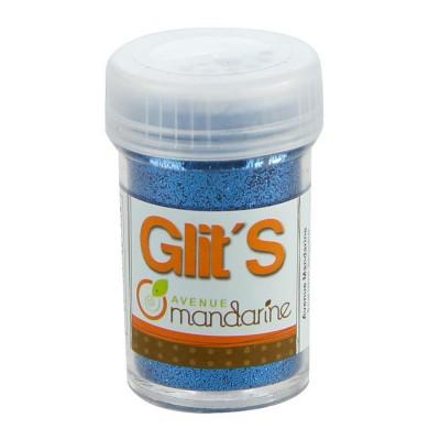 Avenue Mandarine paillettes glit's 14g : bleu azur