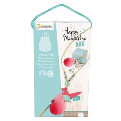 Avenue Mandarine coffret créatif happy mandarine box : colliers birdy