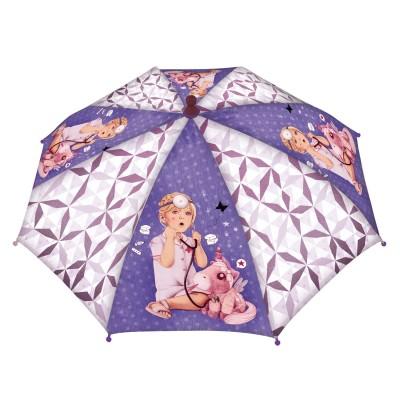 Avenue Mandarine parapluie 67 cm : des étoiles plein les yeux : violet