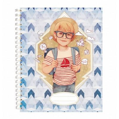 Avenue Mandarine cahier de texte : des étoiles plein les yeux : bleu