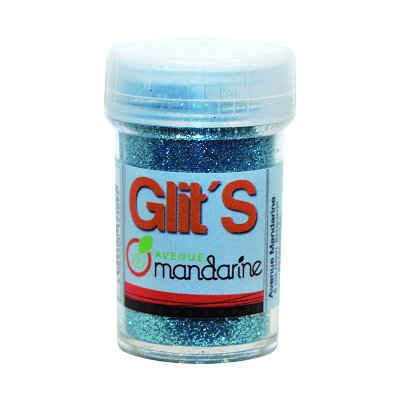 Avenue Mandarine paillettes flacon de 14 g : bleu