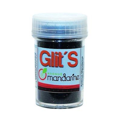 Avenue Mandarine paillettes flacon de 14 g : noir