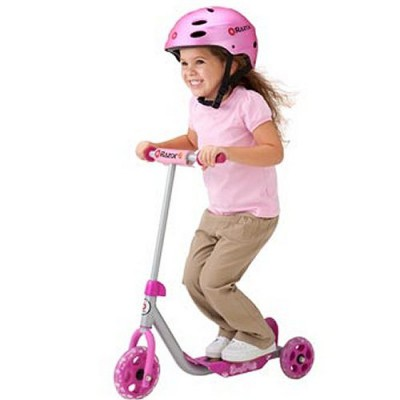 Razor Patinette 3 roues - lil'kick scooter : rose