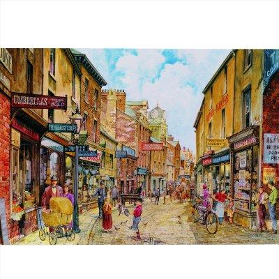 James Hamilton puzzle 1000 pièces - classic deluxe : rue principale du village