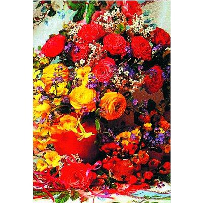 James Hamilton puzzle 1000 pièces - classic deluxe : bouquet du soleil