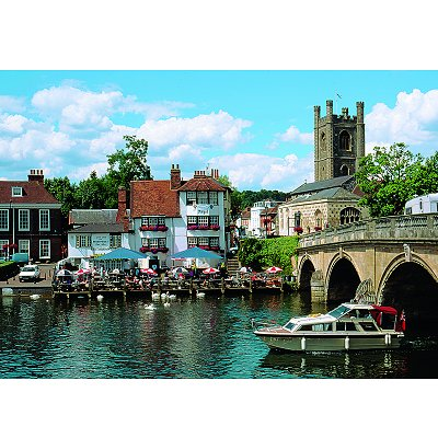 James Hamilton puzzle 1000 pièces - collection : angel inn at henley
