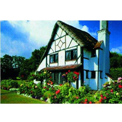 James Hamilton puzzle 1000 pièces - collection : cottage du 15ème siècle