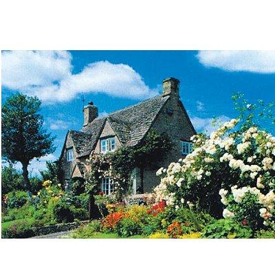 James Hamilton puzzle 1000 pièces - collection : oxfordshire cottage