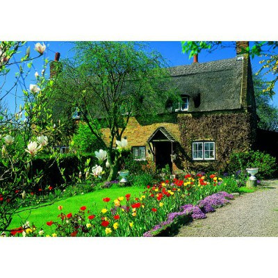 James Hamilton puzzle 1000 pièces - classic deluxe : norfolk cottage