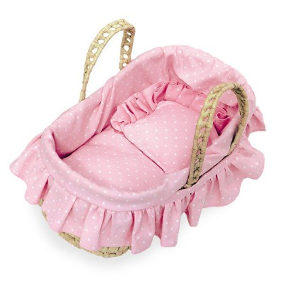 Petitcollin Couffin garni pour poupée