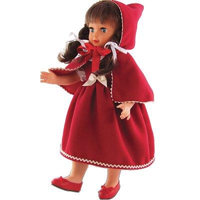 Petitcollin Poupée les poupées chic de paris francette chaperon rouge : nathalie lete
