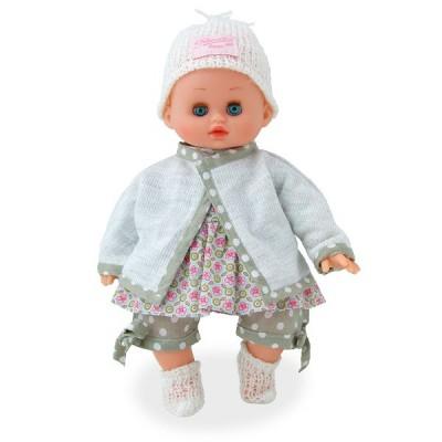 Petitcollin Poupon petit câlin 28 cm : mon petit bébé câlin