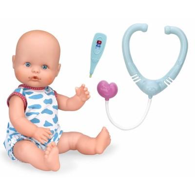 Nenuco Poupée 35 cm bleu : soins médicaux