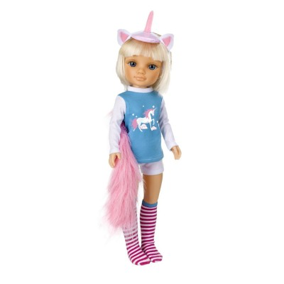 poup e nancy 43 cm pyjama fantastique licorne famosa magasin de jouets pour enfants. Black Bedroom Furniture Sets. Home Design Ideas
