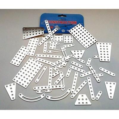 Eitech Set complémentaire pour construction mécanique : Set de barres et plaques métal
