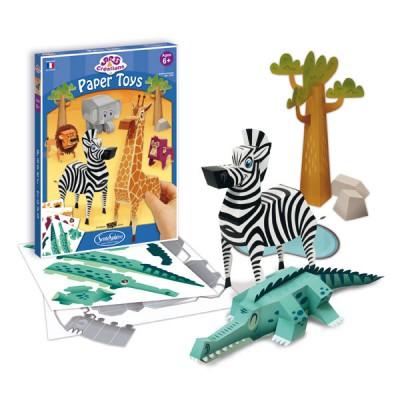 Sentosphère Art & Créations : Paper toys : Animaux de la savane