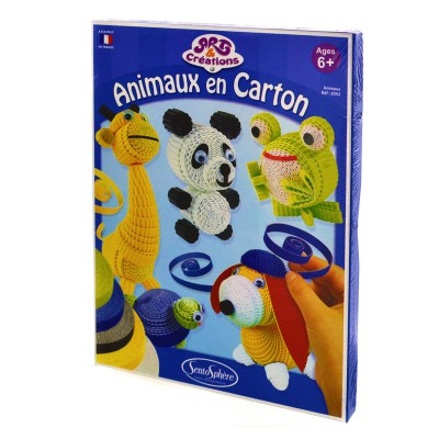 art cr ations animaux en carton sentosph re magasin de jouets pour enfants. Black Bedroom Furniture Sets. Home Design Ideas
