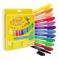 Sentosphère Pochette de 12 crayons Graine d'Artiste : Pastels aquarellables