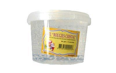 Sentosphère Bougie Gel Bougie Cristal 400 ml