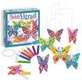 Sentosphère Mobile vitrail papillons Sentosphere