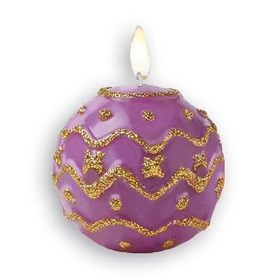 Sentosphère Moule bi-face pour bougie Boule de Noël