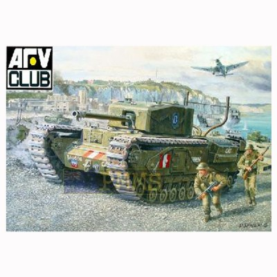 Afv Club maquette char churchill mk.3 operation jubilee dieppe 1942 chenilles maillons