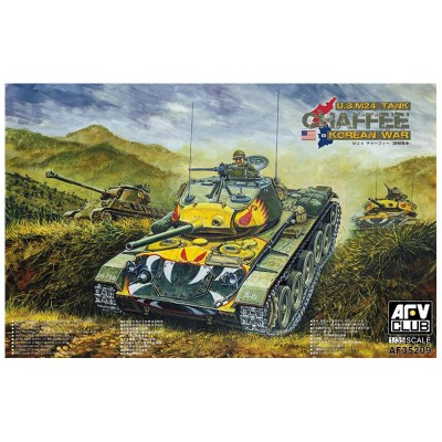 Afv Club maquette char 1/35 : char léger us m24