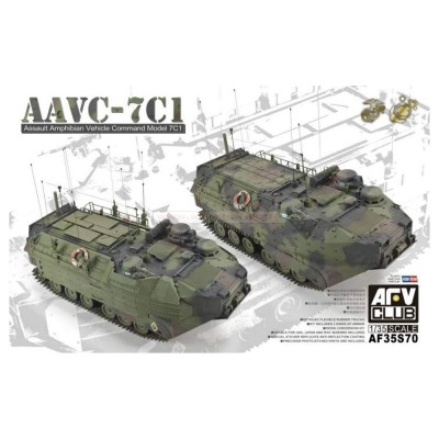 Afv Club maquette 1/35 : engin blindé amphibie us mc aavc-7c1