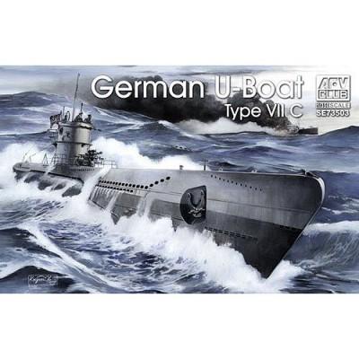 Afv Club maquette sous-Marin allemand u-boat type vii c