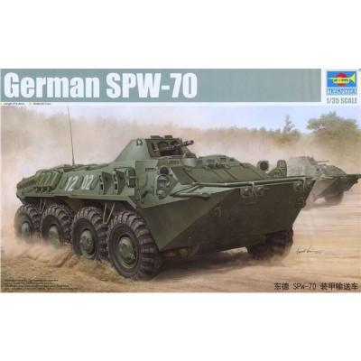 Trumpeter Maquette Char : SPW-70 Armée Est-Allemande 1980