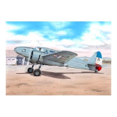 Azur Maquette avion 1/72 : caproni ca.310 libeccio, sous les couleurs yougoslave, croate et hongroise