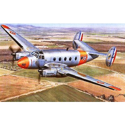 Azur Maquette avion: marcel dassault md 312 flamant
