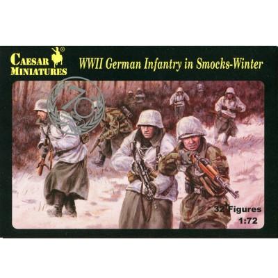 Caesar Miniatures figurines 2ème guerre mondiale : infanterie allemande en hiver