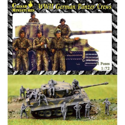 Caesar Miniatures figurines pour maquettes : wwii german panzer crews
