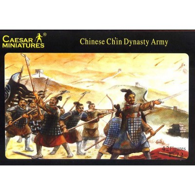 Caesar Miniatures figurines armée chinoisedynastie des ch'in: 200 av. jc